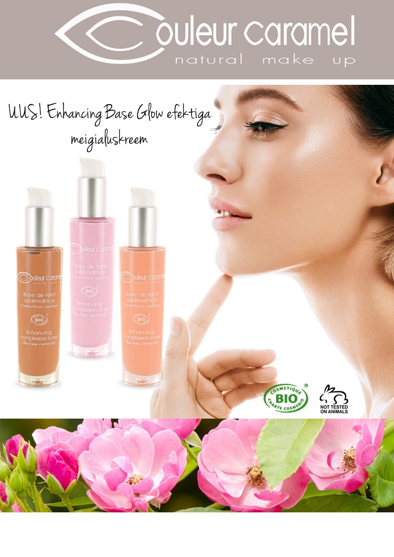 UUS! Enhancing Complexion Make-up Base- Glow efektiga meigialuskreem